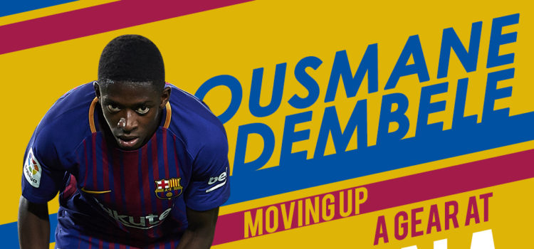 24. Ousmane Dembele moving up a gear at Barcelona